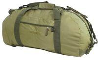 Huge Base Camp Loader Bag Olive Expedition Duffle Pack 100l Bergen Hike Rucksack