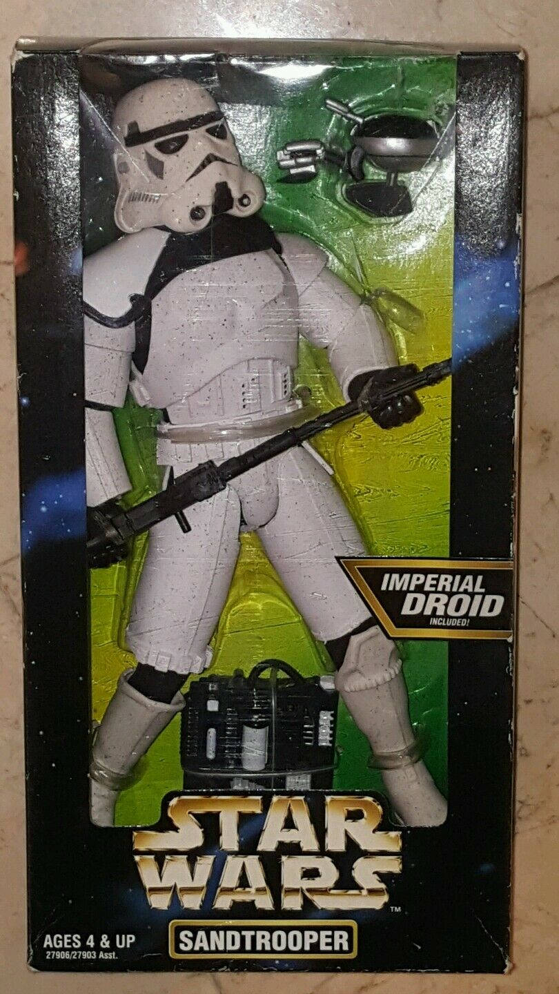 Star Wars SANDTROOPER 12 Inch FIGURE by Hasbro A NEW HOPE New SAND TROOPER