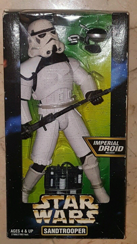Star wars sandtrooper 30 - zentimeter - zahl von hasbro eine neue hoffnung  neu  sand trooper