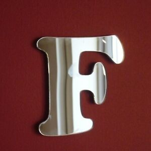 Funky Letter A Acrylic Mirror Several Sizes Available