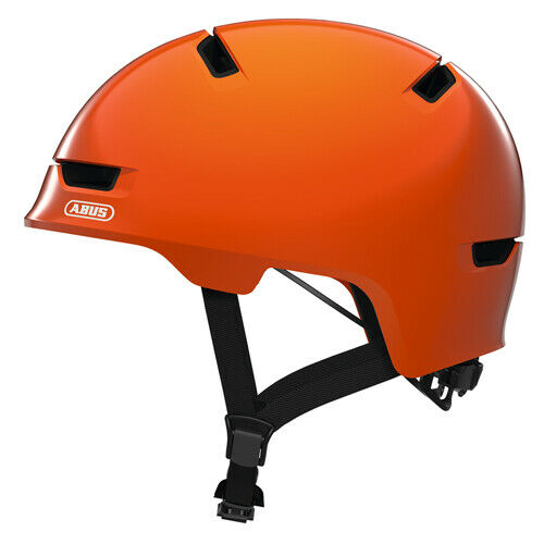 Abus Scraper Kid 3.0 Fahrradhelm //// shiny orange
