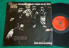 Los Naufragos - Yo En Mi Casa Y Ella En El Bar URUGUAY LP 1969 CBS