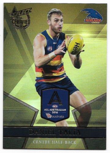 2017 Select Certified All Australian AA5 Daniel TALIA Adelaide