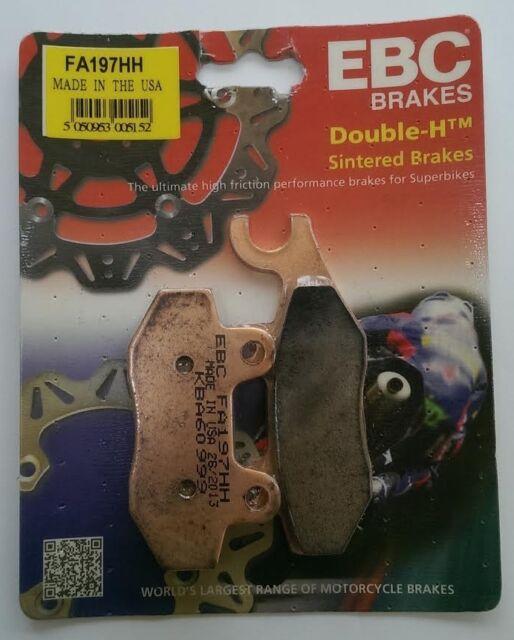 Honda CB125F (GLR125) (2015 to 2016) EBC Sintered FRONT Brake Pads (FA197HH)