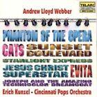 CD Andrew Lloyd Webber Selections From The Musicals Kunzel Cincinnati