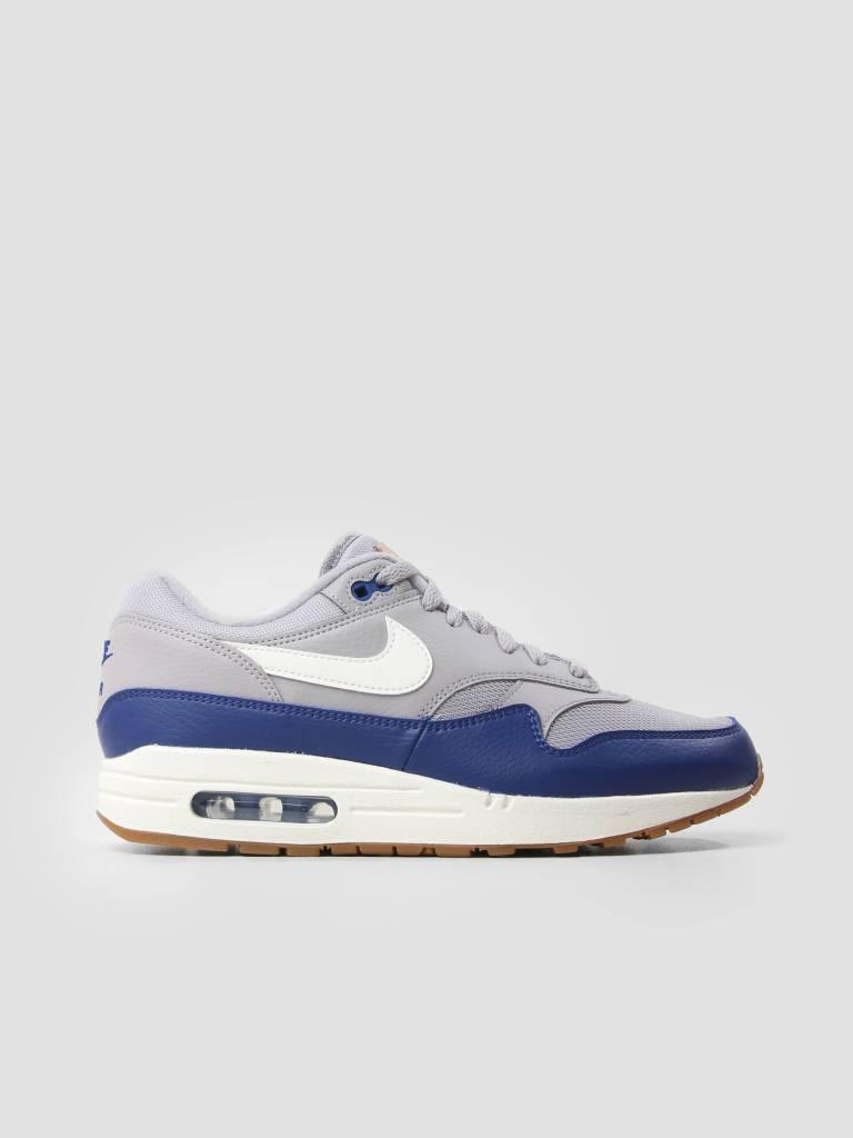 Mens Nike Air Max 1 1 1 Deep Royal bluee Atmosphere Grey Sail AH8145-008 974655