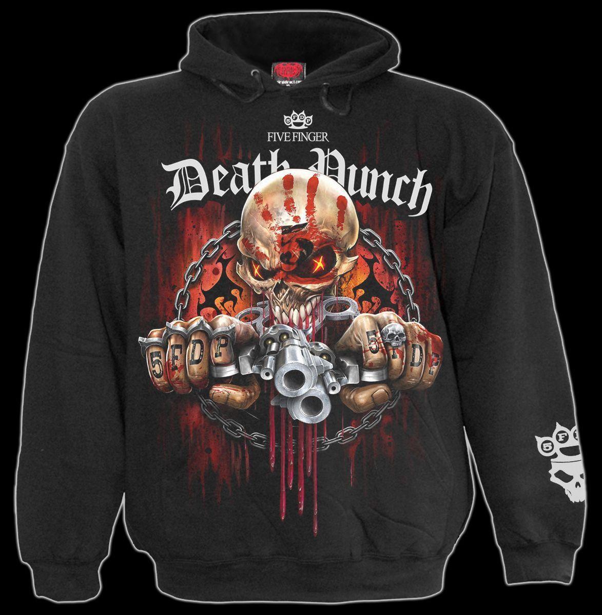 Five Finger Death Punch Kapuzenpullover - 5FDP Assassin - Spiral Gothic Herren