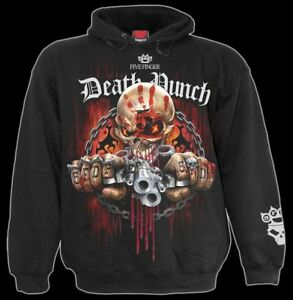 5fdp Spiral Five Punch Assassin Kapuzenpullover Gothic Finger Death Herren RwOqzZ
