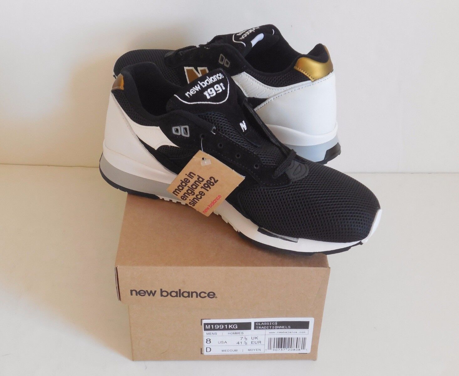 New Balance Neu 8D Herren England in Made M1991KG