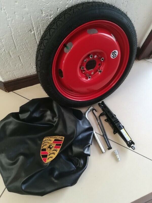 Porsche 997 Carrera 19 inch Space Saving Spare Wheel kit fits cars 2004 to 2012