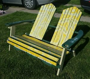 Yuengling-Beer-dual-folding-beach-chair-PROMOTIONAL-GIVEAWAY-extremely-rare-find