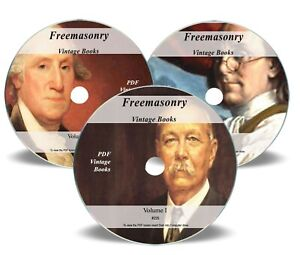Details about 1400 Freemasonry Books on 3x DVD Library Masonic Rituals  Secrets 1300 Images 225