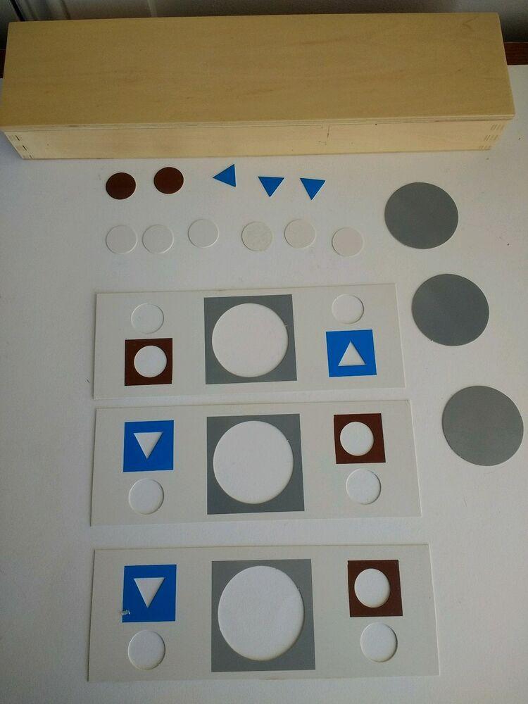 * Nouveau * Montessori Grammer Symboles
