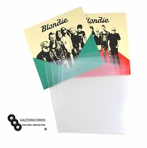 50 7 Quot Inch 450g Gauge Plastic Polythene Record Sleeves