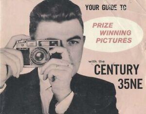 Graflex Century 35NE Instruction Manual Original