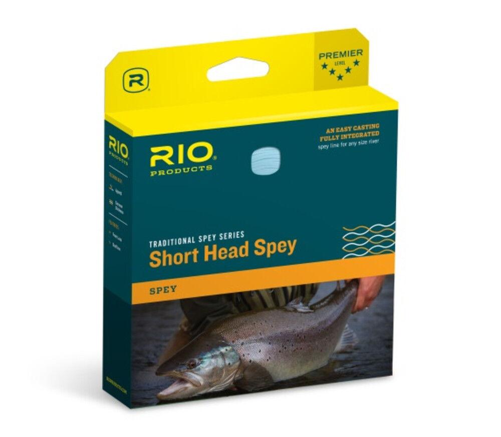 Rio Short Head Spey Fly Ligne 10 11F  nouveau dans la boîte Blaue PAILLE  Closeout