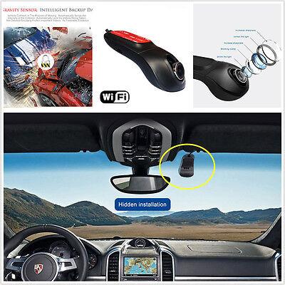 Full HD 1080P Wifi Car DVR Camera Dash Cam Registrator Video Recorder Camcorder