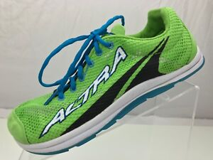 Altra-The-One-Zero-Drop-Running-Shoes-Green-Cross-Training-Athletic-Mens-Sz-8