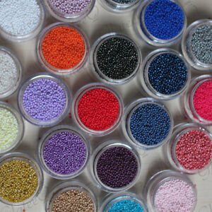 YOUR-CHOICE-5g-Pot-1mm-Caviar-Beads-Craft-Nail-Art-amp-Ciate-Style-Manicure