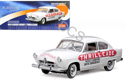 SUNSTAR 1951 Kaiser Henry J Thrille Blanc 1 18