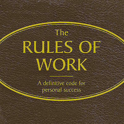 Unknown Artist : Rules of Work audio CD (Red Audio) CD FREE Shipping, Save £s