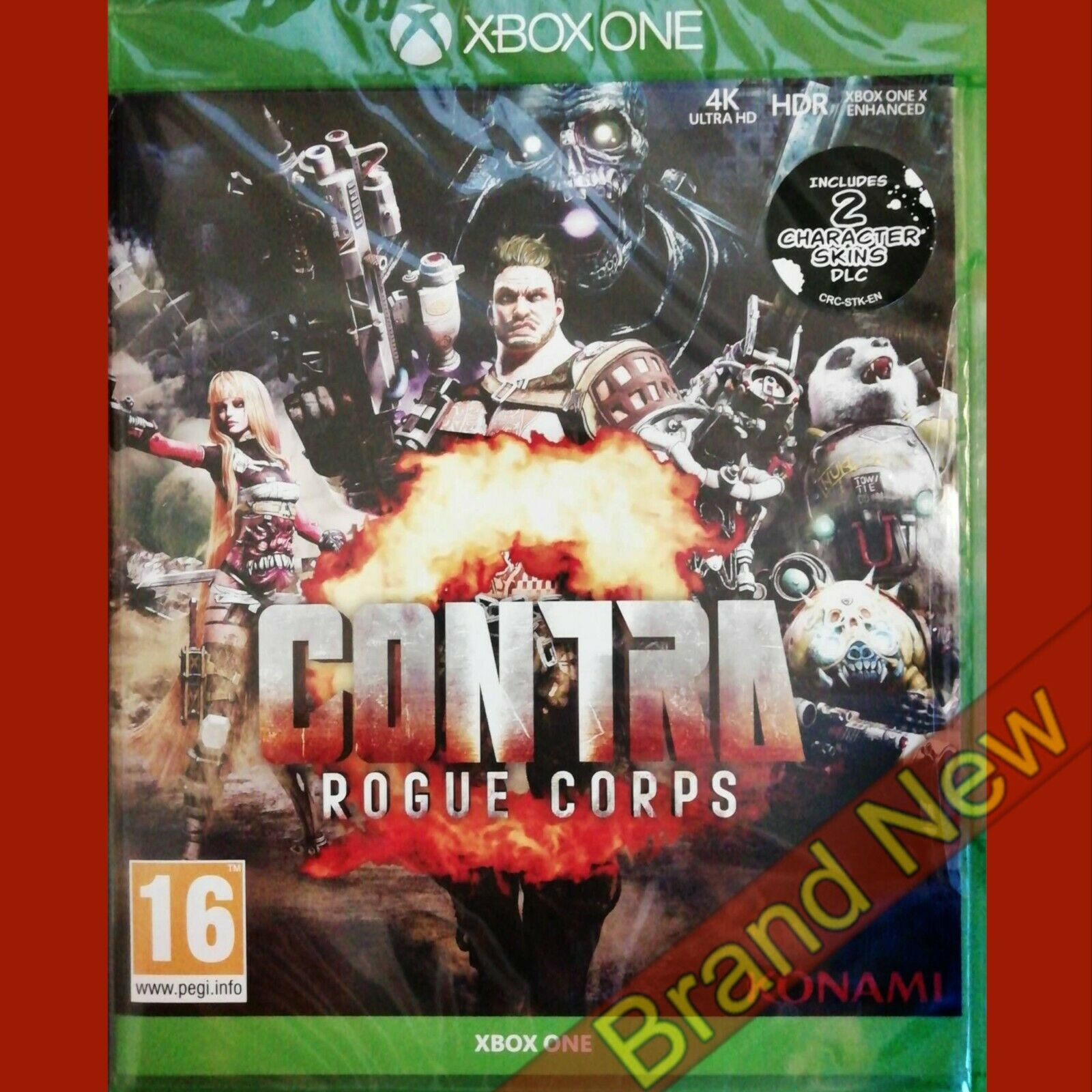 CONTRA ROGUE CORPS - Xbox ONE ~16+ Brand New & Sealed
