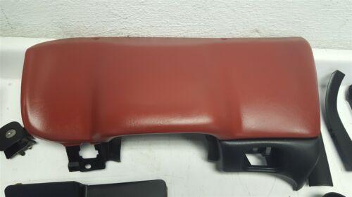 97-99 Corvette C5 Lower Dash Panel Under Column Trim DARK RED USED