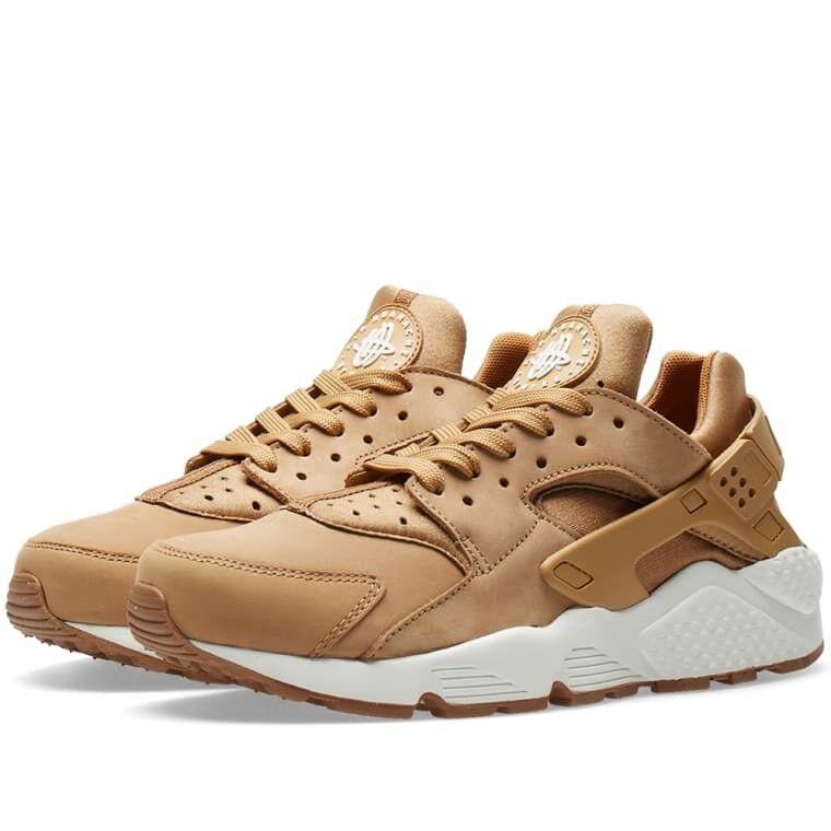 Brand New Mens Nike Air Huarache 318429-202 Flax Size 8.5