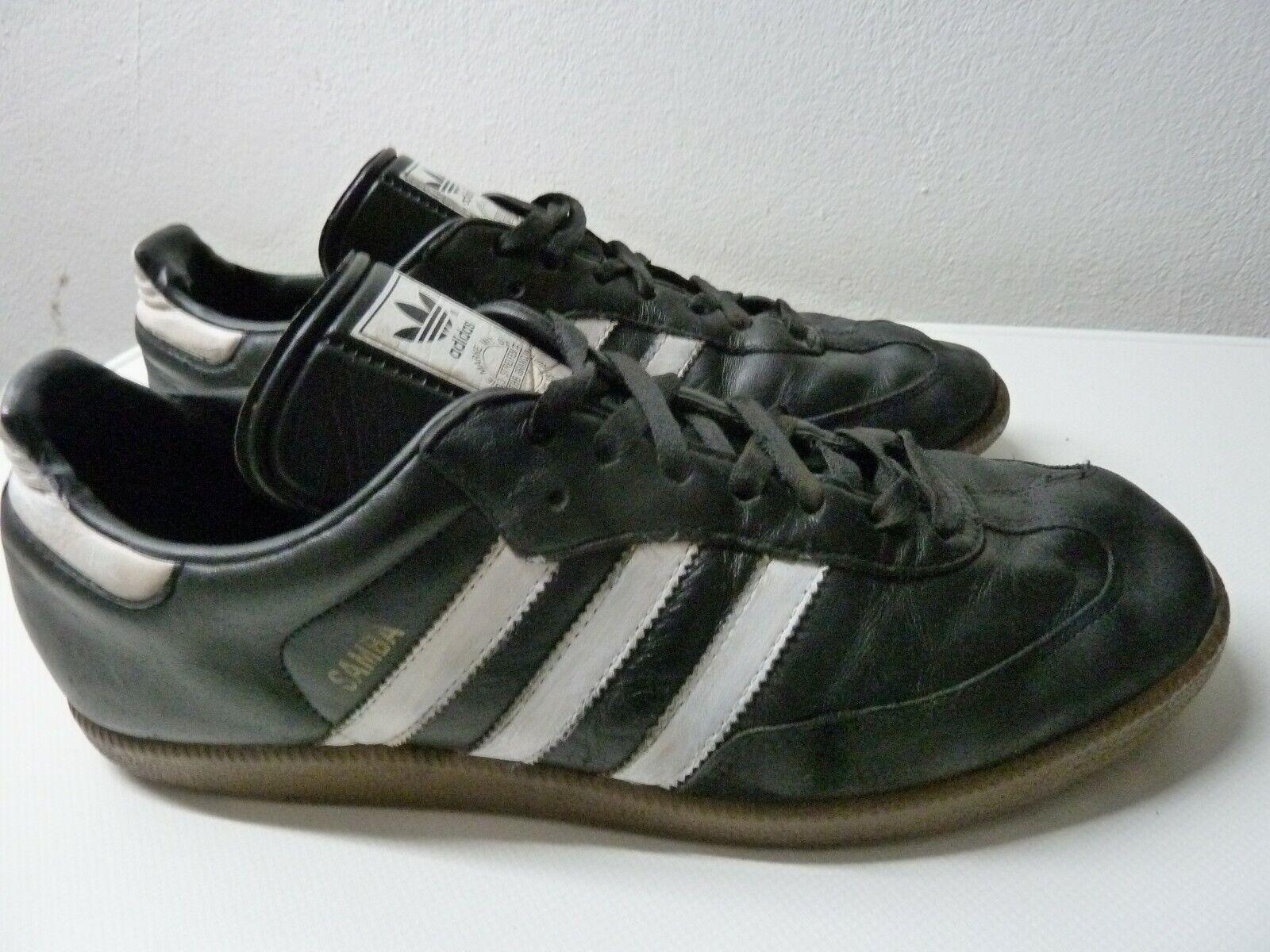 Adidas Originals Samba Gr 44,5   US 10,5   28,5 cm Artikel   019000 schwarz Weiß
