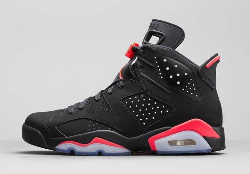Nike Air Jordan Retro 6 VI Black Infrared 384664 023 sz 12