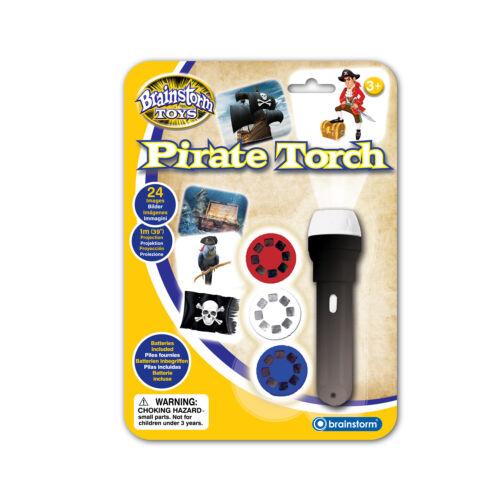 Taschenlampe Piraten mit Projektor Pirat Projektion Bilder Säbel Schiff