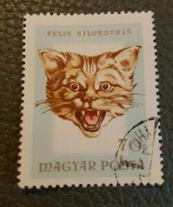 Bundle 63 Magyar Posta Postage Stamps Vintage Collectors Hungarian International