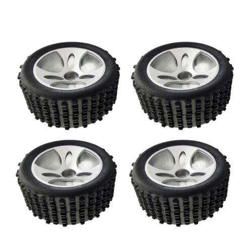 MagiDeal A959 01 Reifen aus Kunststoff für 1//18 Wltoys A959 RC Crawlers 4
