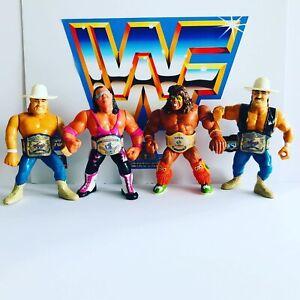 WWF-WWE-Retro-Wrestling-Cinturon-Set-para-Hasbro-Mattel-Jakks-figuras