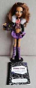 Monster High Clawdeen Wolf Doll. First Wave  with diary