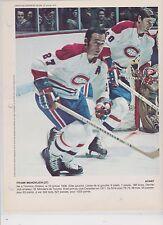 FRANK MAHOVLICH     1974  DIMANCHE DERNIERE HEURE 8X11 PHOTOS