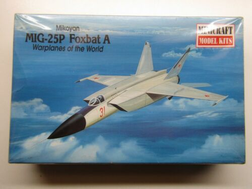 Minicraft 1144 Scale Mikoyan MiG25P Foxbat A Model Kit New # 14428