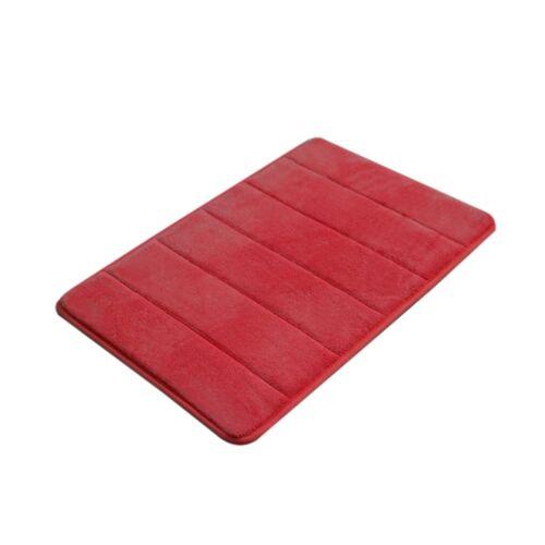 Absorbent Memory Foam Carpet Bath Bathroom Bedroom Floor Shower Mat Rug Non-slip