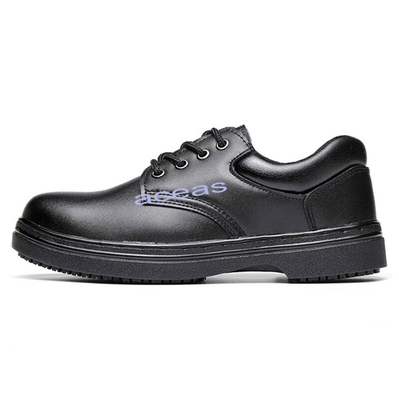 New Menu0026#39;s Waterproof Oilproof Work Chef Shoes Low Top ...