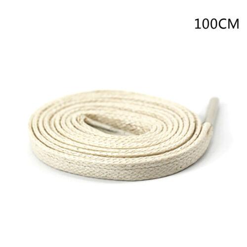 1Pair shoelaces flat round leather shoes shoe strings 80cm//100cm//120cm//150cm SY