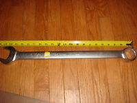 Wright Tool 1252, 1-5/8 Comb. Wrench, 12 Pt