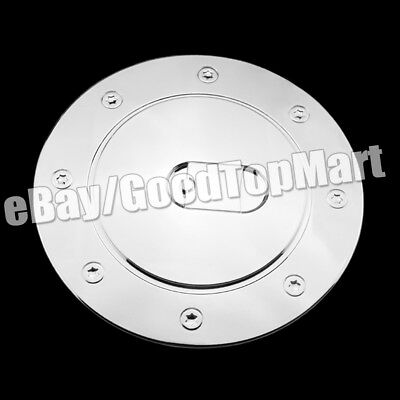 For Toyota Tundra 2007-2015 Chrome Gas Doors Covers Tank Fuel Door Cover