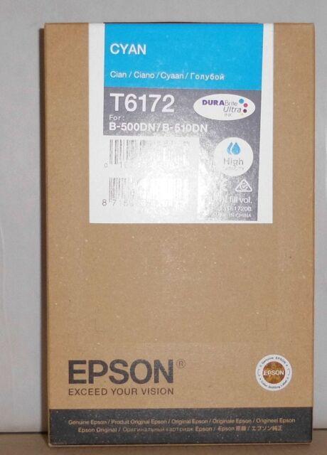 Original Epson T6172 Tinte cyan  für B-500DN B-510DN  C13T617200  2018 OVP B