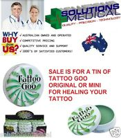 Tattoo Goo Original 9.3g Or 21g Tin All Natural Tattoo Skin Care For Or Old