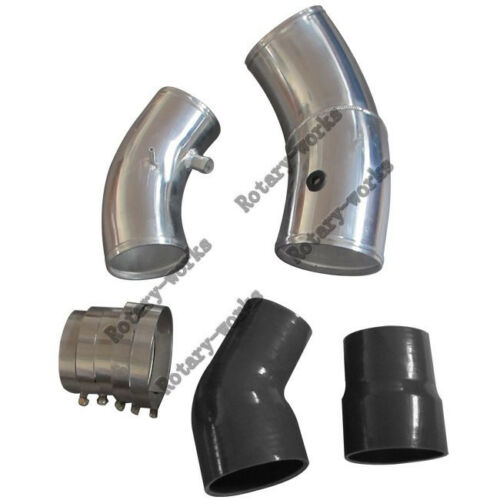 """4/"""" Turbo Cold Air Intake Pipe Kit For 99-03 Ford 7.3L PowerStroke Diesel GTP38"""