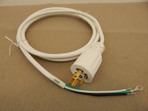 REPLACEMENT POWER CORD 18 AWG 300V 3 PRONG TWIST PLUG 277-VAC NEMA  L7-15P 7.5/'