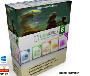 Libre-Office-for-Microsoft-Windows-platform-Pro-6-professional-software-Suite