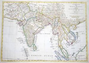 1774 original antique map east indies indian ocean persia maldives image is loading 1774 original antique map east indies indian ocean gumiabroncs Image collections
