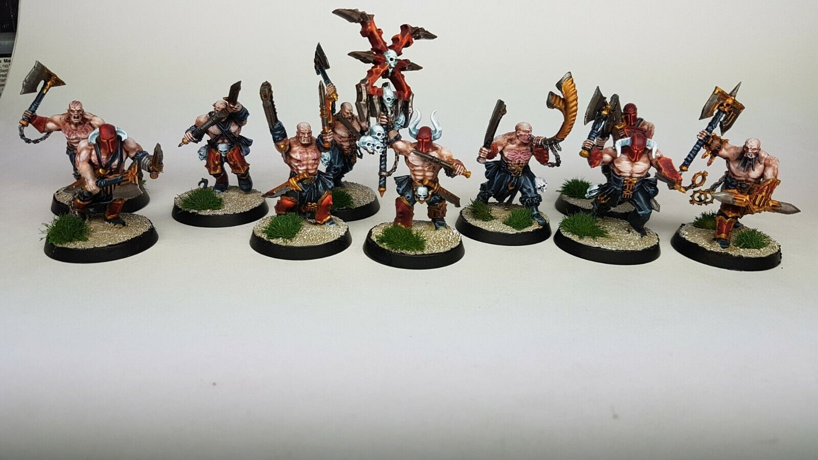 WARHAMMER AGE OF SIGMAR CHAOS BLADES OF KHORNE - Propainted  Commission to Order  vendite online