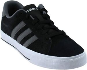 69-New-Adidas-NEO-Daily-B74308-7-Blac-Gray-Suede-Vulc-Skateboard-Men-Sneakers
